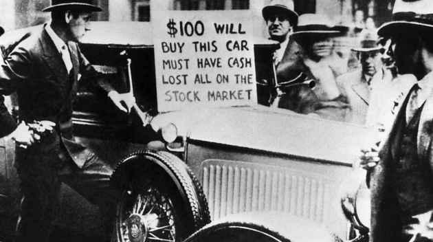 Bolhas Econômicas - Crise 1929