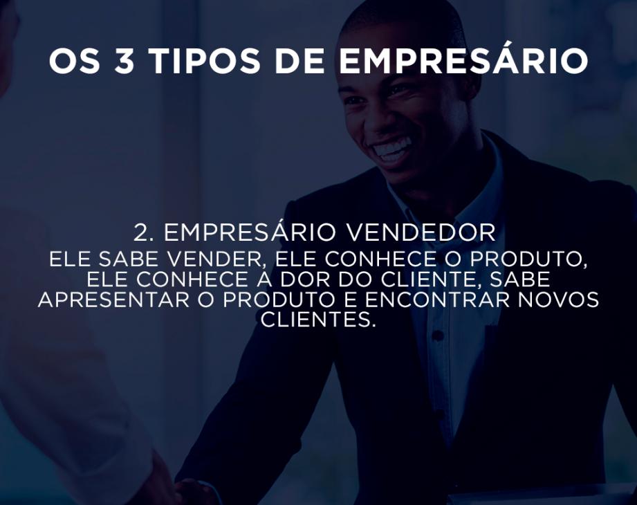 Tipos de Empresário Vendedor